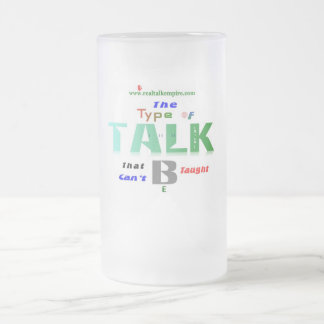type - glass frosted glass beer mug