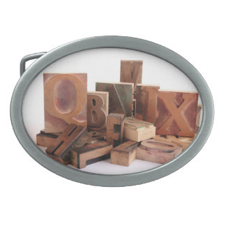 type grouping with Q belt buckle