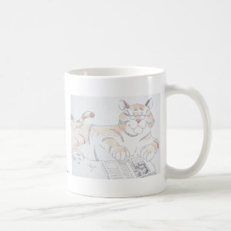 Type of cat, 5 letters... classic white coffee mug