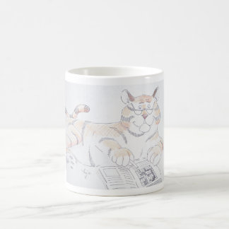 Type of cat, 5 letters... coffee mug