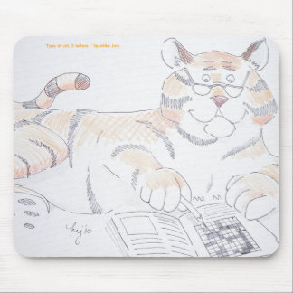 Type of cat, 5 letters... mouse pad