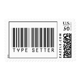 Type Setter  Barcode Postage