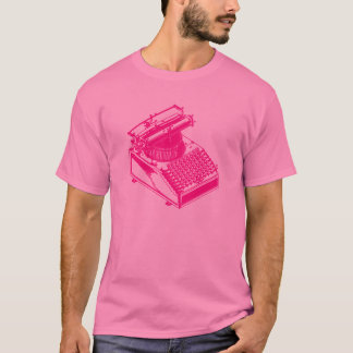 Type Writing Machine T-Shirt