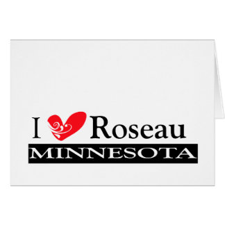 Type Your Minnesota Town Greeting Card