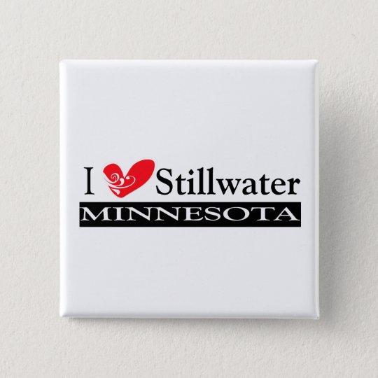 Type Your Minnesota Town Pinback Button