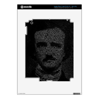 TypeFace - Edgar Allan Poe Skin For iPad 3