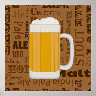 Types of Beer Series Print 1