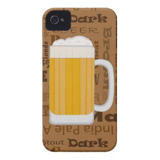 Types of Beer Series Print 1 iPhone 4 Case