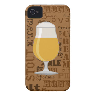 Types of Beer Series Print 4 iPhone 4 Cover