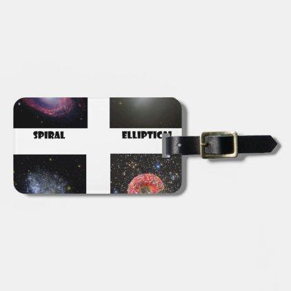 types of Galaxies3 Bag Tag