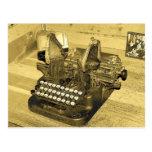 Typewriter2 Tarjeta Postal