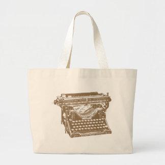 Typewriter Tote Bags