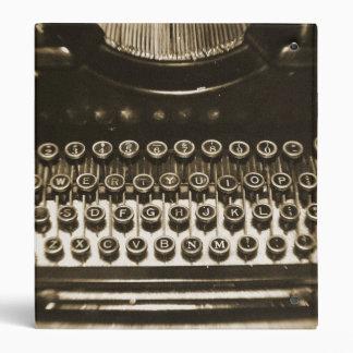 Typewriter Binder