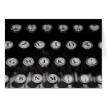 """typewriter"" by Larry Coressel Greeting Card"