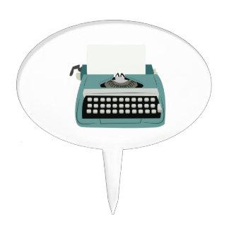 Typewriter Cake Topper