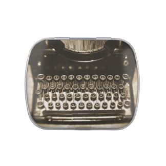 Typewriter Candy Tin
