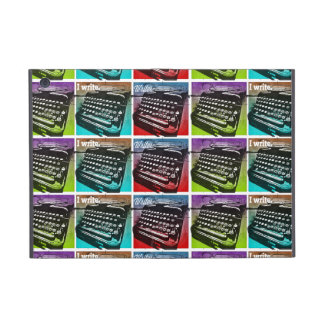 Typewriter Cool Pop Art for Writers and Authors Cover For iPad Mini