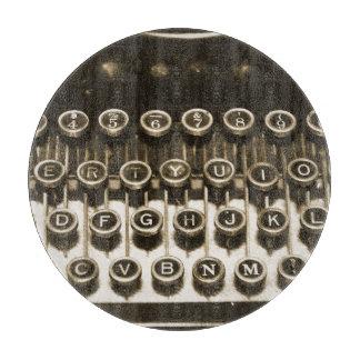 Typewriter Cutting Board