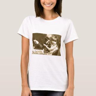 Typewriter girl T-Shirt