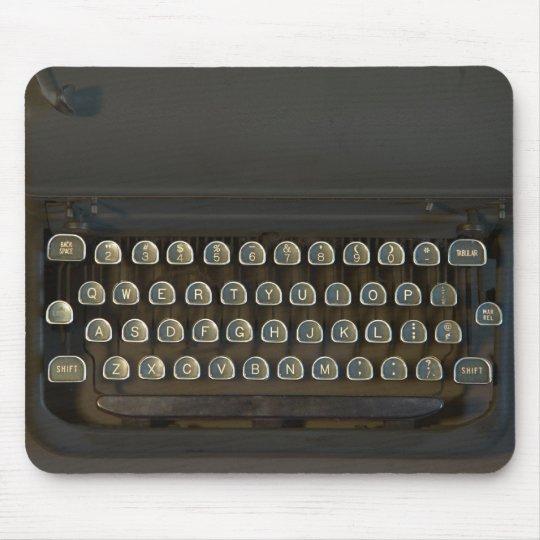 Typewriter Keyboard Mouse Pad
