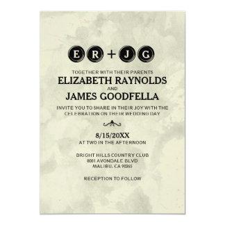 Typewriter Keys Wedding Invitations Invitation
