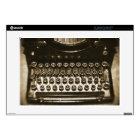 Typewriter Laptop Decals
