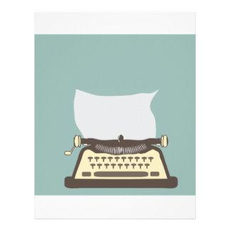 Typewriter Letterhead Template
