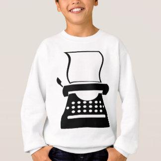 Typewriter - Manual Typing Old School Writing Sweatshirt