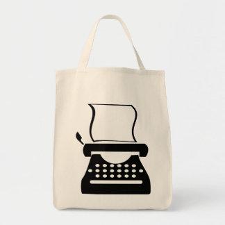 Typewriter - Manual Typing Old School Writing Tote Bag