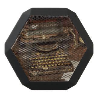 Typewriter - My bosses office Black Bluetooth Speaker