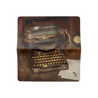 Typewriter - My bosses office Checkbook Cover