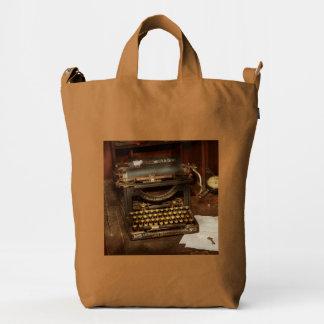 Typewriter - My bosses office Duck Bag