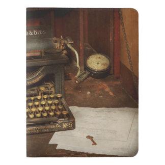 Typewriter - My bosses office Extra Large Moleskine Notebook