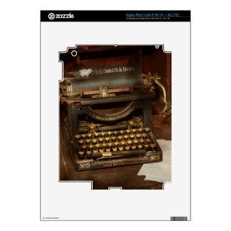Typewriter - My bosses office iPad 3 Skin