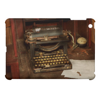 Typewriter - My bosses office iPad Mini Cases