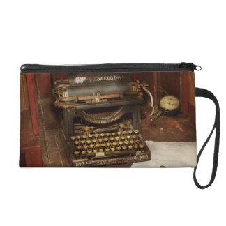 Typewriter - My bosses office Wristlet Purse