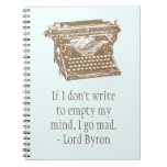 Typewriter Notebooks