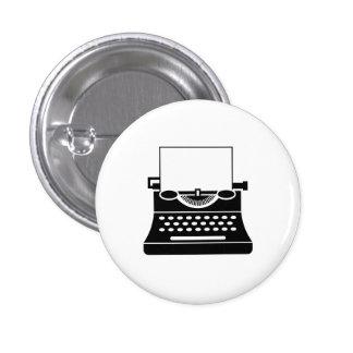 Typewriter Pictogram Button
