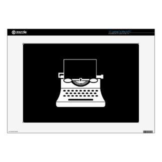 Typewriter Pictogram Latop Skin Skin For Laptop