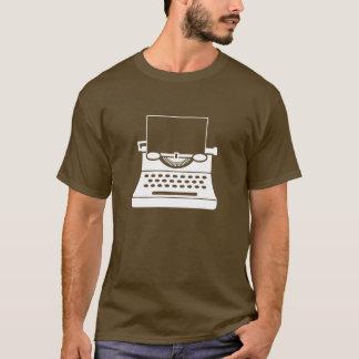 Typewriter Pictogram T-Shirt