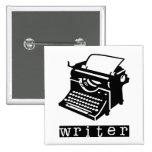 Typewriter Pinback Buttons
