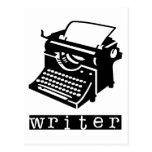 Typewriter Post Card