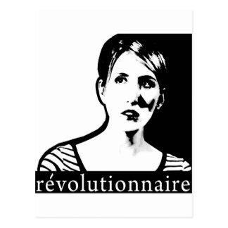 Typewriter Revolutionary Postcard