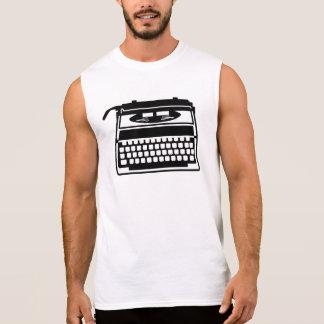 Typewriter Sleeveless Shirt