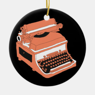 Typewriter - SRF Ceramic Ornament