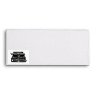 Typewriter  Writer Envelope