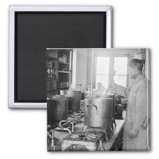 Typhoid Parry: 1917 Magnet