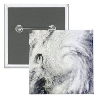 Typhoon Chaba in the Philippine Sea Pinback Button