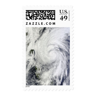 Typhoon Chaba in the Philippine Sea Stamps