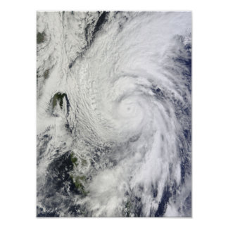 Typhoon Chaba in the Philippine Sea Poster